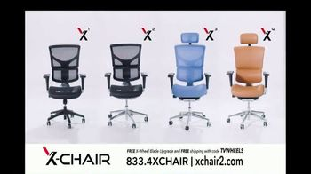 X-Chair TV Spot, 'Behind the World's Most Productive People: $100 Off and X-Wheel Upgrade' - Thumbnail 10