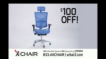 X-Chair TV Spot, 'Behind the World's Most Productive People: $100 Off and X-Wheel Upgrade' - Thumbnail 8
