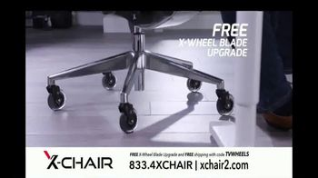 X-Chair TV Spot, 'Behind the World's Most Productive People: $100 Off and X-Wheel Upgrade' - Thumbnail 9