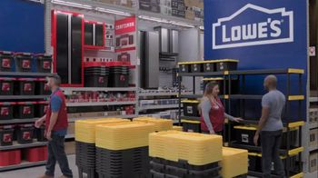 Lowe's Store & Save Event TV Spot, 'Organizing Done Right: Commander Tote' - Thumbnail 1