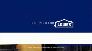 Lowe's Store & Save Event TV Spot, 'Organizing Done Right: Commander Tote' - Thumbnail 10