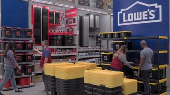 Lowe's Store & Save Event TV Spot, 'Organizing Done Right: Commander Tote' - Thumbnail 2