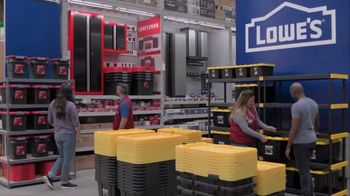 Lowe's Store & Save Event TV Spot, 'Organizing Done Right: Commander Tote'