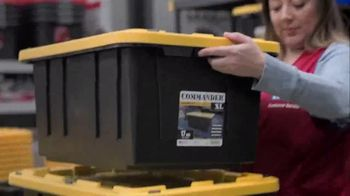 Lowe's Store & Save Event TV Spot, 'Organizing Done Right: Commander Tote' - Thumbnail 4
