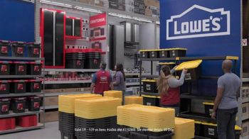Lowe's Store & Save Event TV Spot, 'Organizing Done Right: Commander Tote' - Thumbnail 5