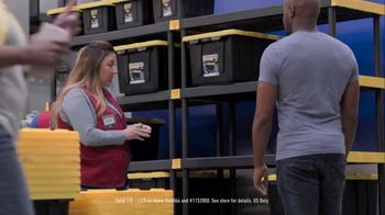 Lowe's Store & Save Event TV Spot, 'Organizing Done Right: Commander Tote' - Thumbnail 7