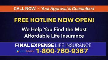 Select Advisor TV Spot, 'Life Insurance: Final Expenses'