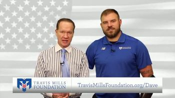 Travis Mills Foundation TV Spot, 'Asking For Your Help'