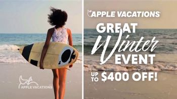 Apple Vacations Great Winter Event TV Spot, 'Clear Your Schedule: Grand Palladium & TRS'