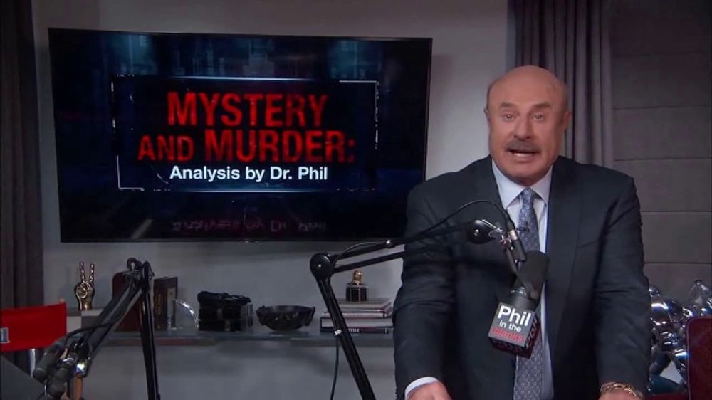 Dr. Phil Podcasts TV Commercial, 'Phil in the Blanks, True Crime & I've Got a Secret!: Available Now