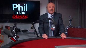 Dr. Phil Podcasts TV Spot, 'Phil in the Blanks, True Crime & I've Got a Secret!: Available Now' - Thumbnail 1