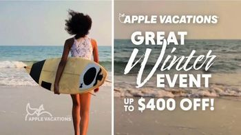 Apple Vacations Great Winter Event TV Spot, 'Clear Your Schedule: Barcelo Hotel Group' - Thumbnail 4