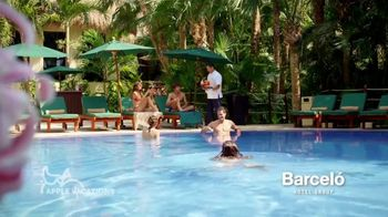 Apple Vacations Great Winter Event TV Spot, 'Clear Your Schedule: Barcelo Hotel Group' - Thumbnail 7