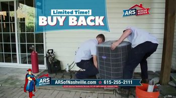 ARS Rescue Rooter TV Spot, 'HVAC Buy Back'
