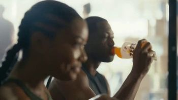 Gatorade Zero TV Spot, 'Back At It' Featuring Dwyane Wade, Gabrielle Union - Thumbnail 2