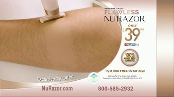 Flawless Nu Razor TV Spot, 'Shaving Has Never Been This Easy' - Thumbnail 10
