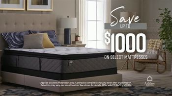 Ashley HomeStore New Year's Mattress Sale TV Spot, 'Stearns & Foster Mattresses' Song by Midnight Riot - Thumbnail 4
