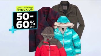 Kohl's Stock up + Save Event TV Spot, 'Outerwear, Sleepwear & Holiday Decor'