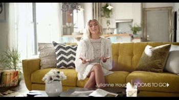 Rooms to Go TV Spot, 'Anything is Possible' Featuring Julianne Hough