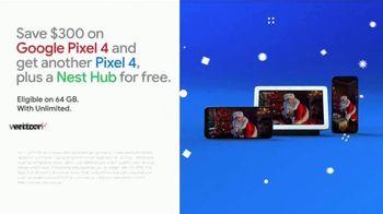 Google Pixel 4 TV Spot, 'Capture Santa With Night Sight: Save $300' Song by David Phelps - Thumbnail 6