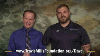 Travis Mills Foundation TV Spot, 'Mortach Million Dollar Challenge'