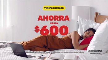 Mattress Firm Venta de Fin de Año TV Spot, 'King a precio Queen' [Spanish]