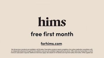 Hims TV Spot, 'Join the Party: Free Month'