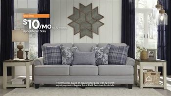 Ashley HomeStore New Year's Sale TV Spot, '30% Off: Upholstered Sofa' Song by Midnight Riot - Thumbnail 6
