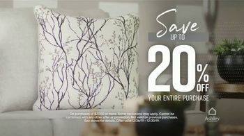 Ashley HomeStore New Year's Sale TV Spot, '30% Off: Queen Panel Beds' Song by Midnight Riot - Thumbnail 5
