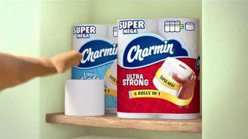 Charmin Super Mega Roll TV Spot, 'A Roll That Lasts' - Thumbnail 4
