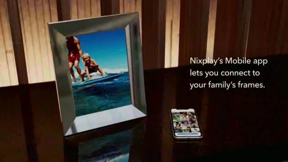 Nixplay TV Commercial, 'America's #1 Digital Photo Frame is on Everyone's Wishlist This Year'