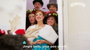 Poo~Pourri TV Spot, 'Holidays: Jingle Bells Your Poop Smells' - Thumbnail 3