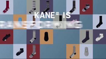 Kane 11 Socks TV Spot, 'Transforming the Way We Wear Socks: 25 Percent Off' Featuring Boomer Esiason - Thumbnail 1
