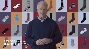 Kane 11 Socks TV Spot, 'Transforming the Way We Wear Socks: 25 Percent Off' Featuring Boomer Esiason - Thumbnail 3