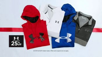 Kohl's TV Spot, 'Holidays: Under Armour Fleece, Adidas Apparel & Nike Shoes'