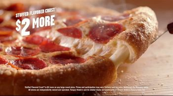 Hungry Howie's Stuffed Flavored Crust Pizza TV Spot, 'Mall Cop' - Thumbnail 8