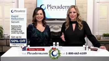 Plexaderm Skincare Holiday Special TV Spot, 'Beauty Experts: Up to 50 Percent Off'