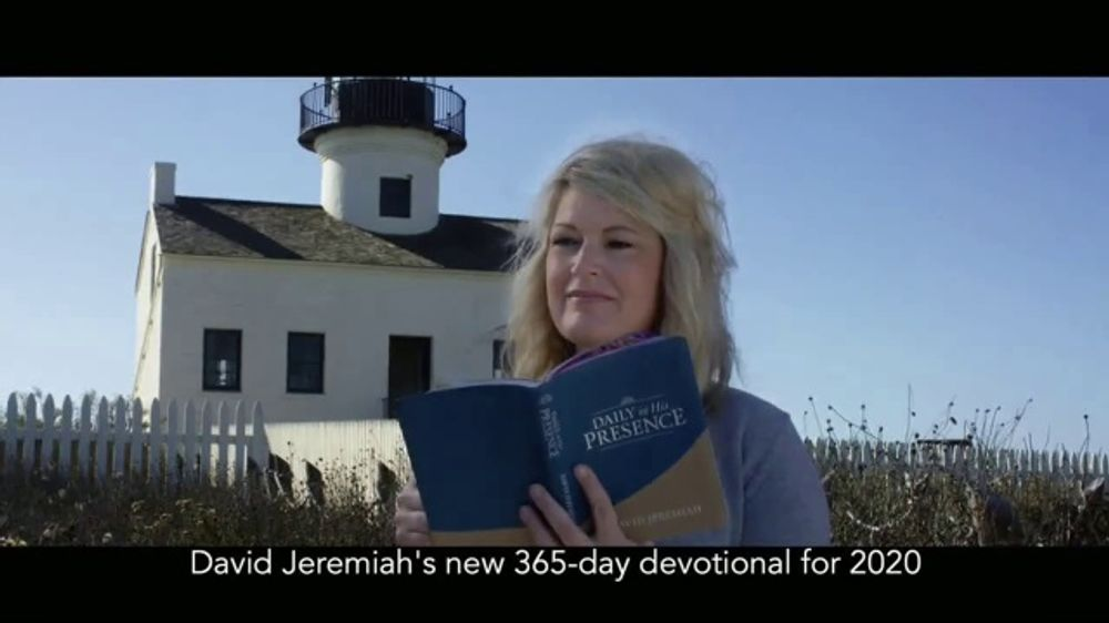 Turning Point with Dr. David Jeremiah TV Commercial, 'Daily in His Presence'