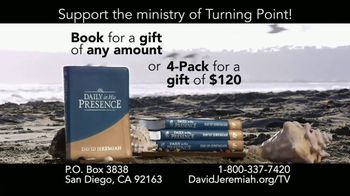 Turning Point with Dr. David Jeremiah TV Spot, 'Daily in His Presence' - Thumbnail 9