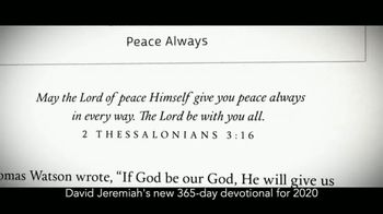 Turning Point with Dr. David Jeremiah TV Spot, 'Daily in His Presence' - Thumbnail 4