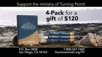 Turning Point with Dr. David Jeremiah TV Spot, 'Daily in His Presence' - Thumbnail 6