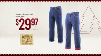 Bass Pro Shops Christmas Sale TV Spot, 'Wish Lists: Flannel-Lined Jeans & Open-Front Cardigans' - Thumbnail 7