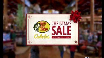 Bass Pro Shops Christmas Sale TV Spot, 'Fleece Jackets and Under Armour'