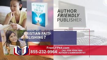 Christian Faith Publishing TV Spot, 'Author's Submission Kit'