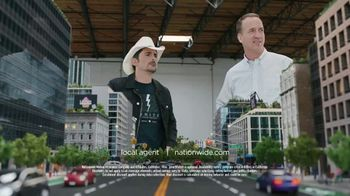 Nationwide Insurance SmartRide TV Spot, 'Peytonville: Discounts' Feat. Brad Paisley, Peyton Manning - 41 commercial airings