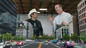 Nationwide Insurance SmartRide TV Spot, 'Peytonville: Discounts' Feat. Brad Paisley, Peyton Manning - Thumbnail 2