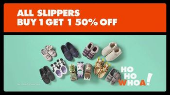 Big Lots TV Spot, 'Ho Ho Whoa: Slippers'