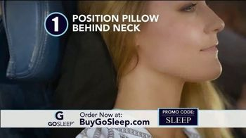 GoSleep TV Spot, 'Love to Travel: 50 Percent Off' - 30 commercial airings