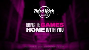 Hard Rock Hotels & Casinos TV Spot, 'Bring the Games Home With You: 50 Free Spins' - Thumbnail 5