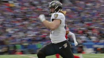 Verizon TV Spot, 'Moments of Impact: Hayden Hurst' - 4 commercial airings